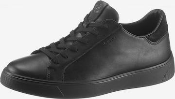 ECCO Sneaker 'Street Tray' in Schwarz