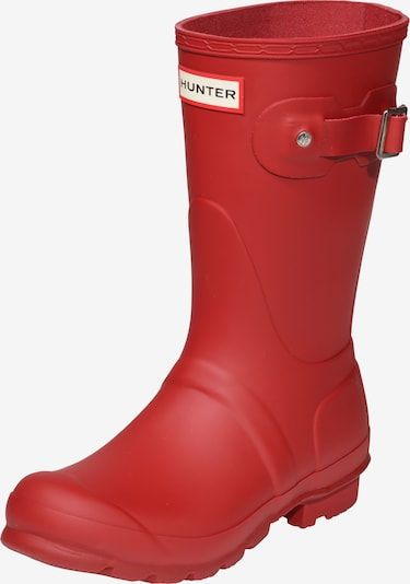 HUNTER Gummistiefel in rot, Produktansicht