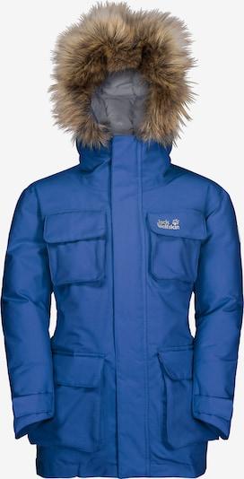 JACK WOLFSKIN Daunenjacke 'Ice Explorer' in blau, Produktansicht