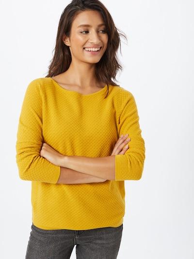 ESPRIT Sveter - žltá: Pohľad spredu