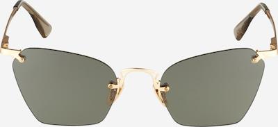 LE SPECS Lunettes de soleil 'PIT STOP' en or / noir, Vue avec produit