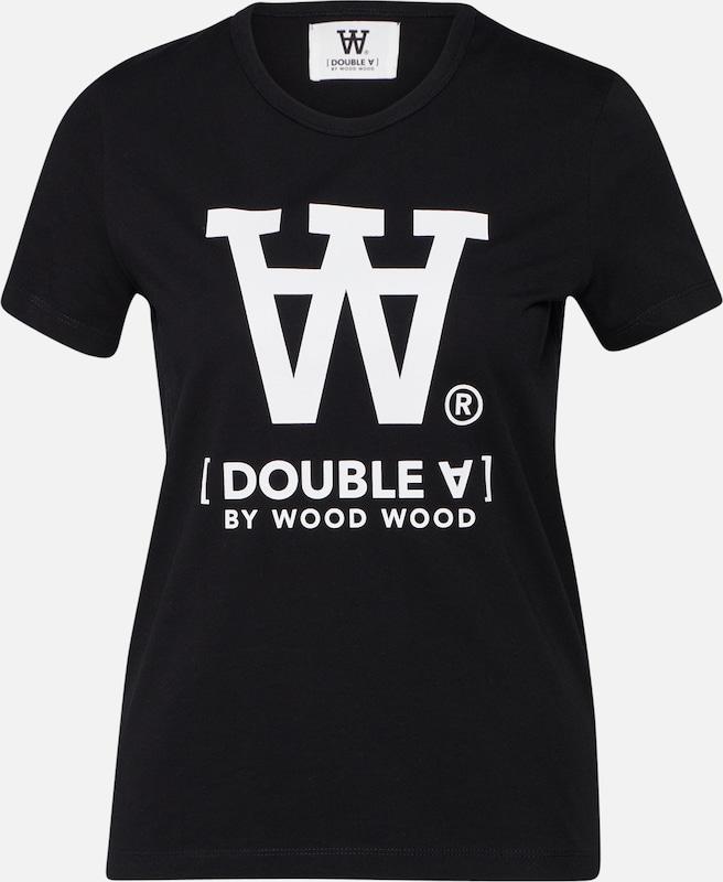 'uma' En T shirt Wood NoirBlanc OkXZiPu