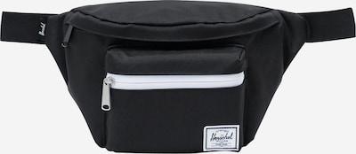 Herschel Gürteltasche 'Seventeen' in schwarz / weiß, Produktansicht