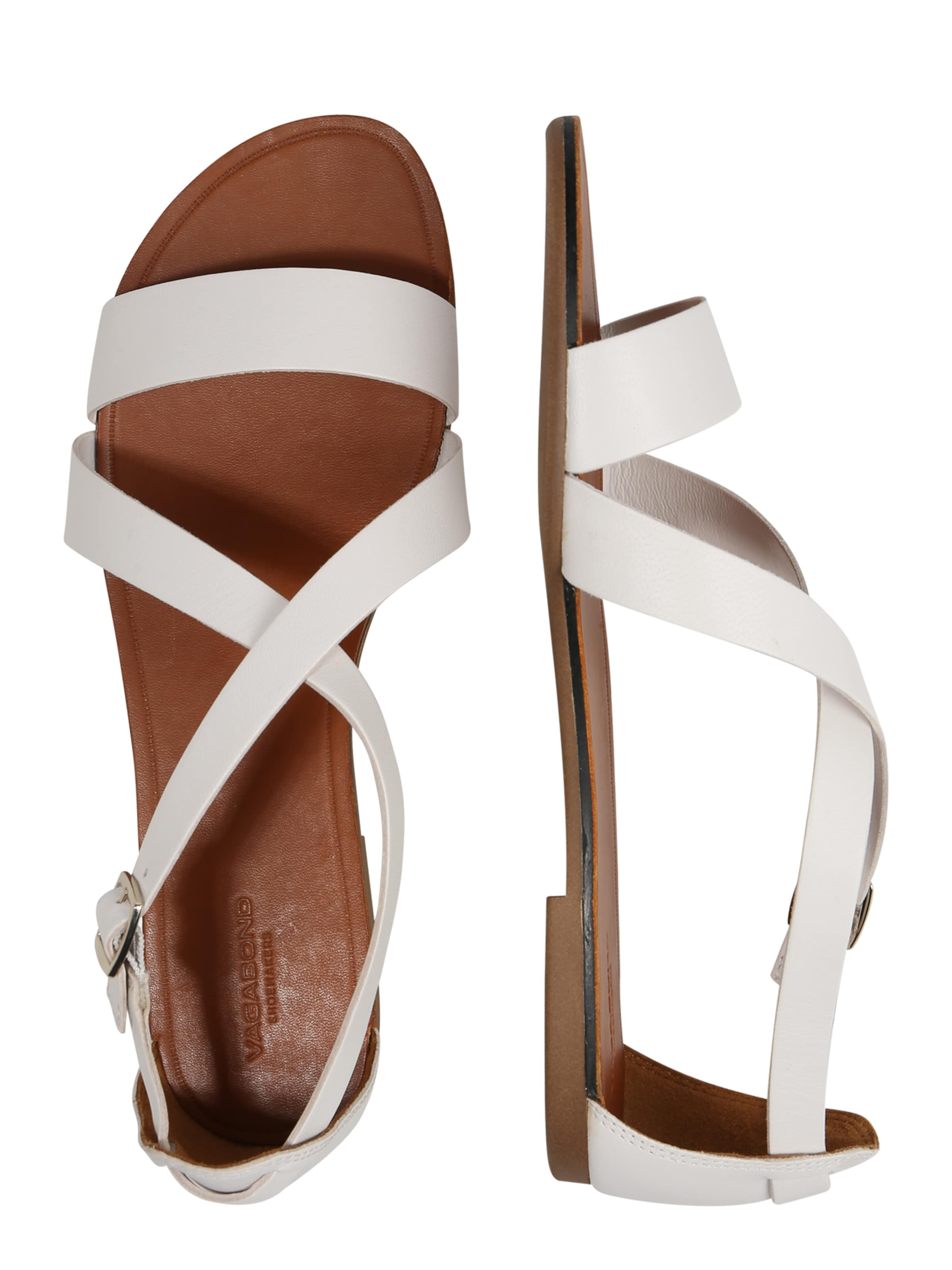 Sandalen In 'tia' Vagabond Weiß Shoemakers 5q4j3ALR