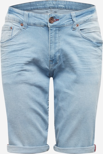 Petrol Industries Jeansshorts in blue denim, Produktansicht