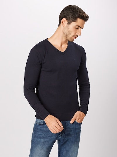 TOM TAILOR Pullover in navy: Frontalansicht