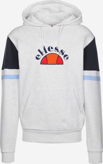 ELLESSE Sweatshirt 'Petto' in hellblau / orange / rot / weiß, Produktansicht
