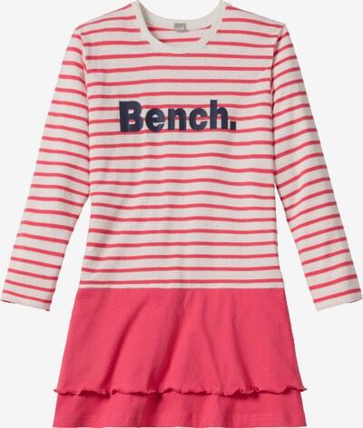 BENCH Nachthemd in navy / koralle / naturweiß, Produktansicht