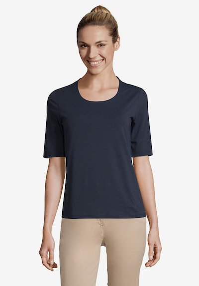Betty Barclay Basic Shirt in blau: Frontalansicht