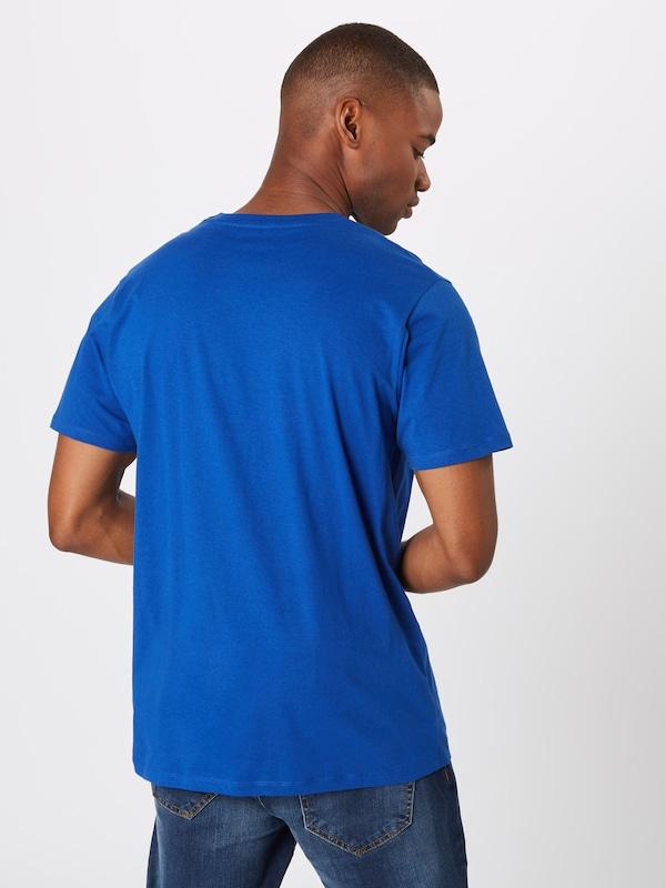 Jones Blanc 'jorugga' T shirt Bleu RoiRouge Jackamp; En 34RL5jA