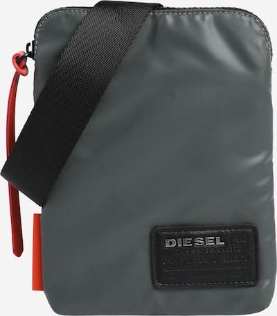 DIESEL Umhängetasche 'Discover' in grau / orange / schwarz, Produktansicht