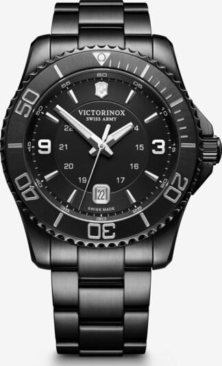 VICTORINOX Analoog horloge 'Maverick Black Edition' in de kleur Zwart, Productweergave