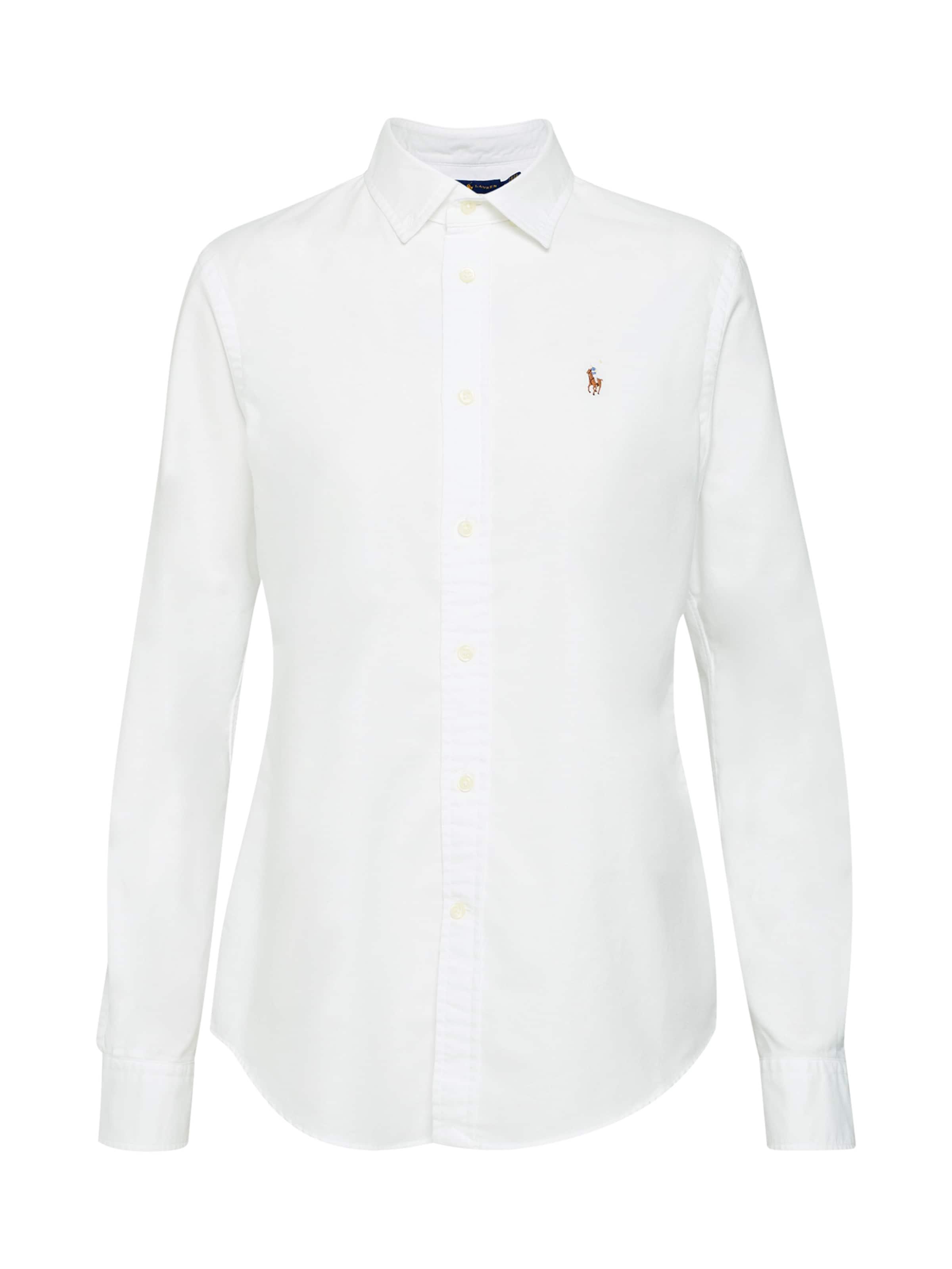 Lauren Ralph Bluse Weiß Polo In ARLj5q34
