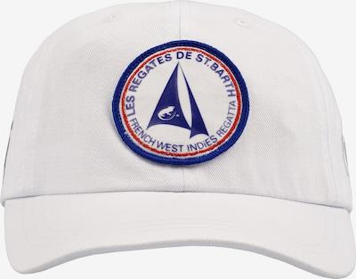CODE-ZERO Classic Cap 'Cap St. Barth' in blau / rot / weiß, Produktansicht