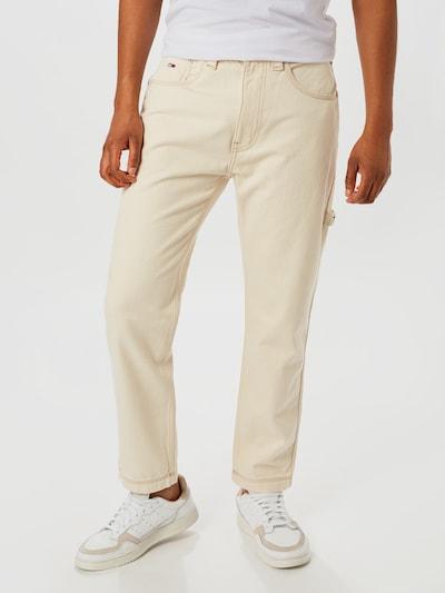 Tommy Jeans Hose 'REY WORKWEAR' in creme, Modelansicht
