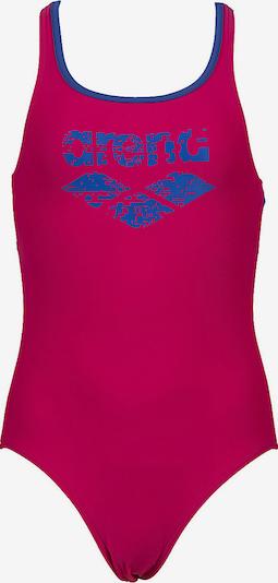 ARENA Badeanzug in blau / rosa, Produktansicht