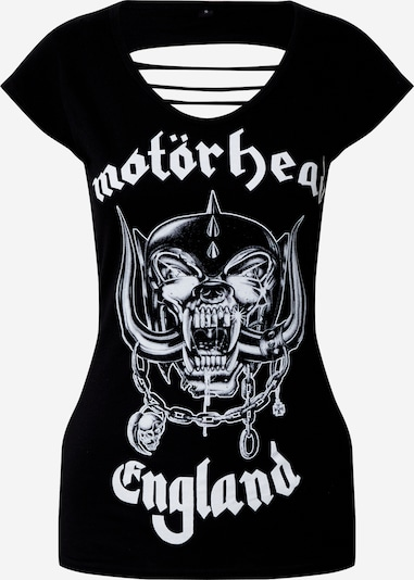 fekete Merchcode Póló 'Motörhead Logo Cutted', Termék nézet