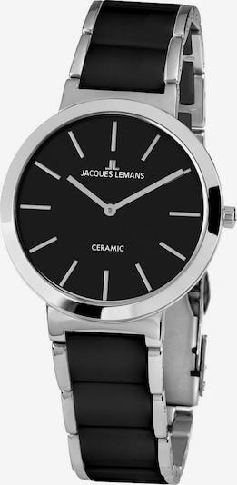 Jacques Lemans Uhr 'Milano, 1-1999A' in schwarz / silber, Produktansicht