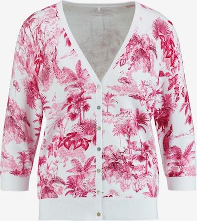 GERRY WEBER Jacke in pink / weiß, Produktansicht