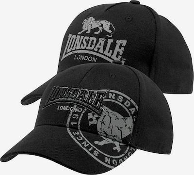 LONSDALE Cap in schwarz, Produktansicht