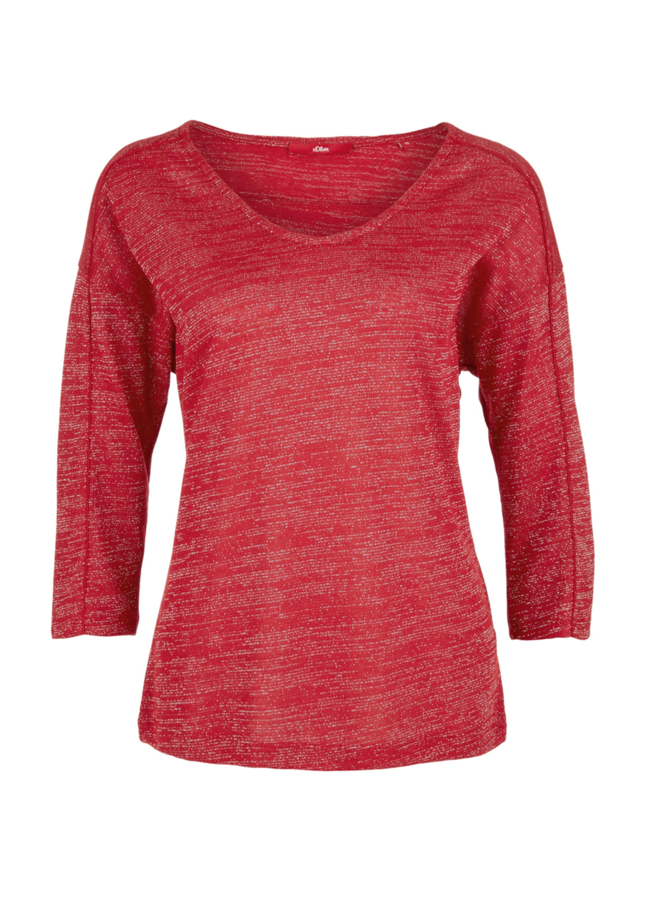 FeuerrotSilber Shirt In S oliver S 0wOk8nP