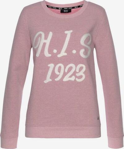 HIS JEANS Sweatshirt in rosa, Produktansicht