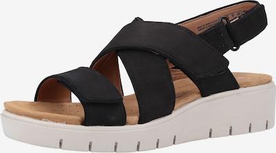 CLARKS Sandale in schwarz, Produktansicht