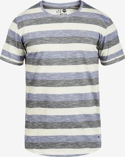 !Solid Rundhalsshirt 'Thicco' in blau: Frontalansicht