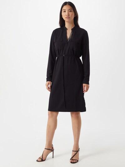 Rochie tip bluză Calvin Klein pe negru / alb, Vizualizare model