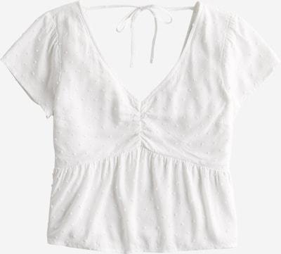 HOLLISTER Koszulka 'RUCHED' w kolorze białym, Podgląd produktu