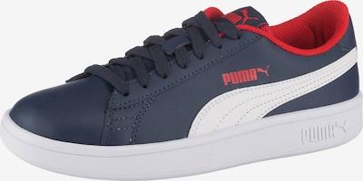 PUMA Sneaker in nachtblau / rot / weiß, Produktansicht
