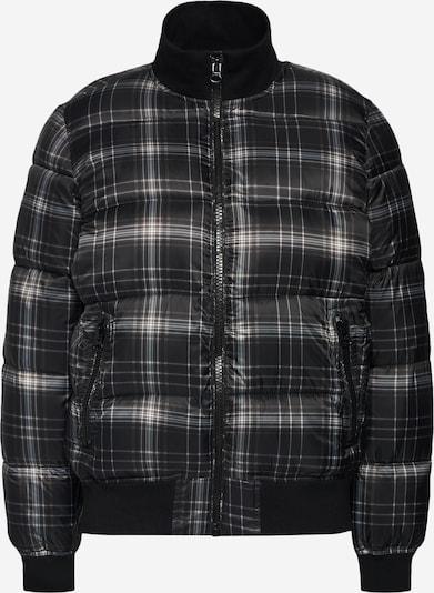 GAP Jacke 'PUFFERBOMBERJKTPRINT' in schwarz / weiß, Produktansicht