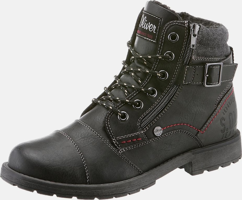 s.Oliver RED LABEL Schnürstiefel