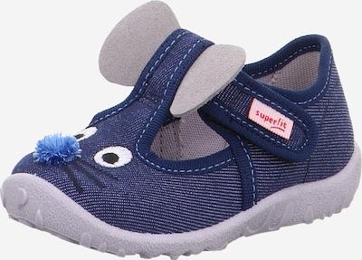 SUPERFIT Pantofle 'SPOTTY' - modrá džínovina / světlemodrá / černá / bílá, Produkt