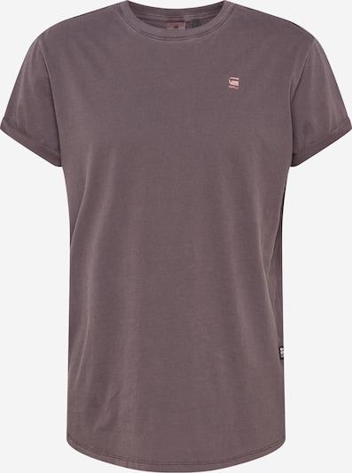 G-Star RAW Shirt 'Lash' in lila / schwarz, Produktansicht