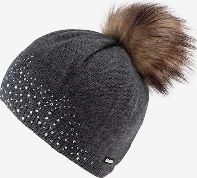 Eisbär Mütze 'Nalin Lux Crystal' in anthrazit, Produktansicht