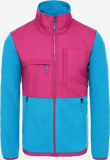 THE NORTH FACE Fleecejacke ' Denali Fleece ' in hellblau / pink, Produktansicht