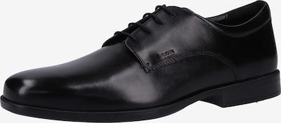 GEOX Chaussure à lacets en noir: Vue de face