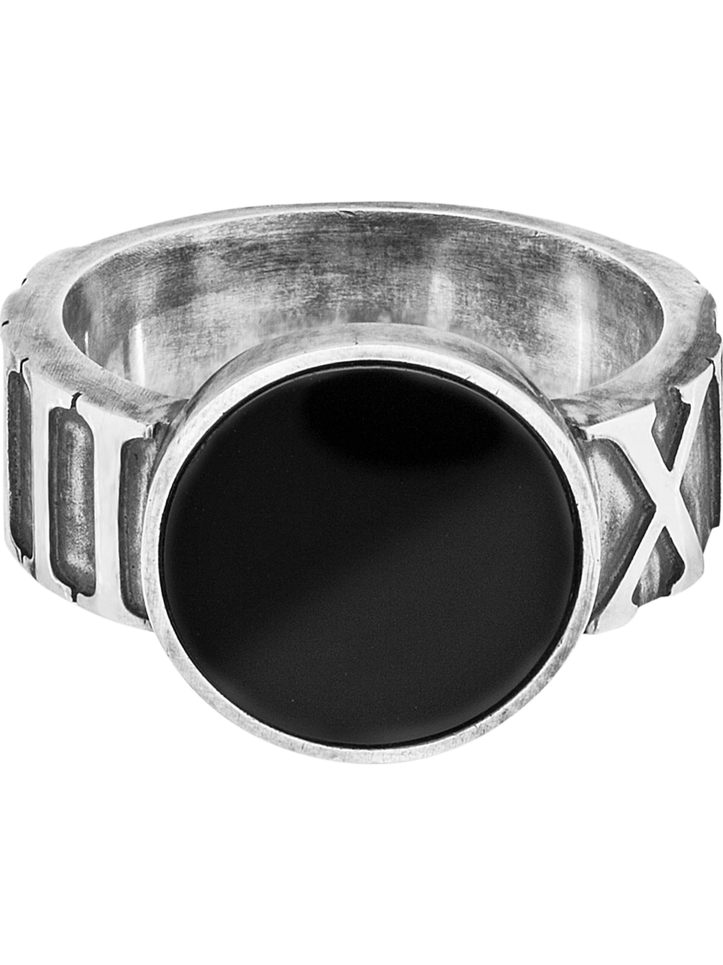 In 066' Caï Ring SchwarzSilber '132270824 kOuTlZwiPX