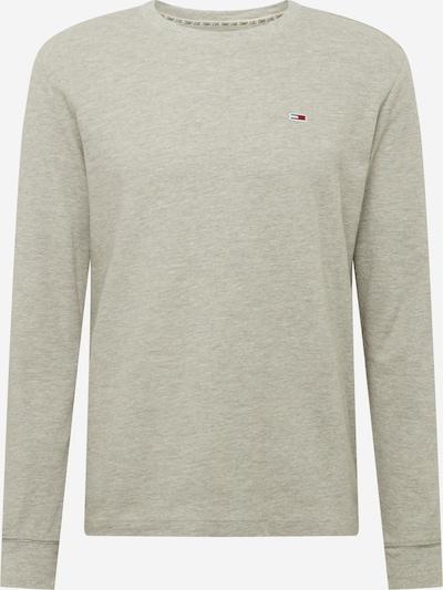 Tommy Jeans T-Shirt 'WAFFLE' en gris clair, Vue avec produit