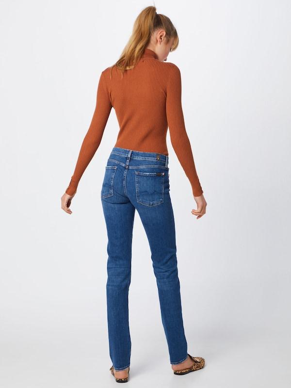 7 for all all all mankind Jeans ' ROXANNE' in Blau denim  Neuer Aktionsrabatt 17fff0