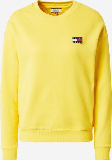 Tommy Jeans Sweat-shirt 'BADGE' en jaune, Vue avec produit