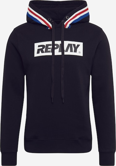 REPLAY Sweatshirt in schwarz, Produktansicht