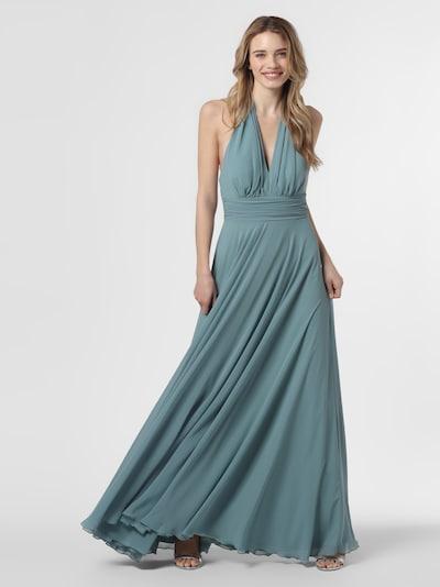 Marie Lund Abendkleid in grün, Modelansicht