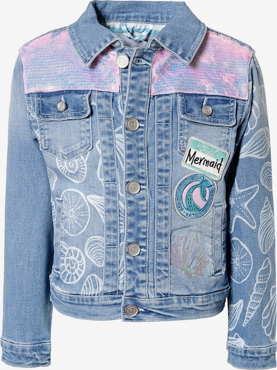 Desigual Jeansjacke in blau, Produktansicht