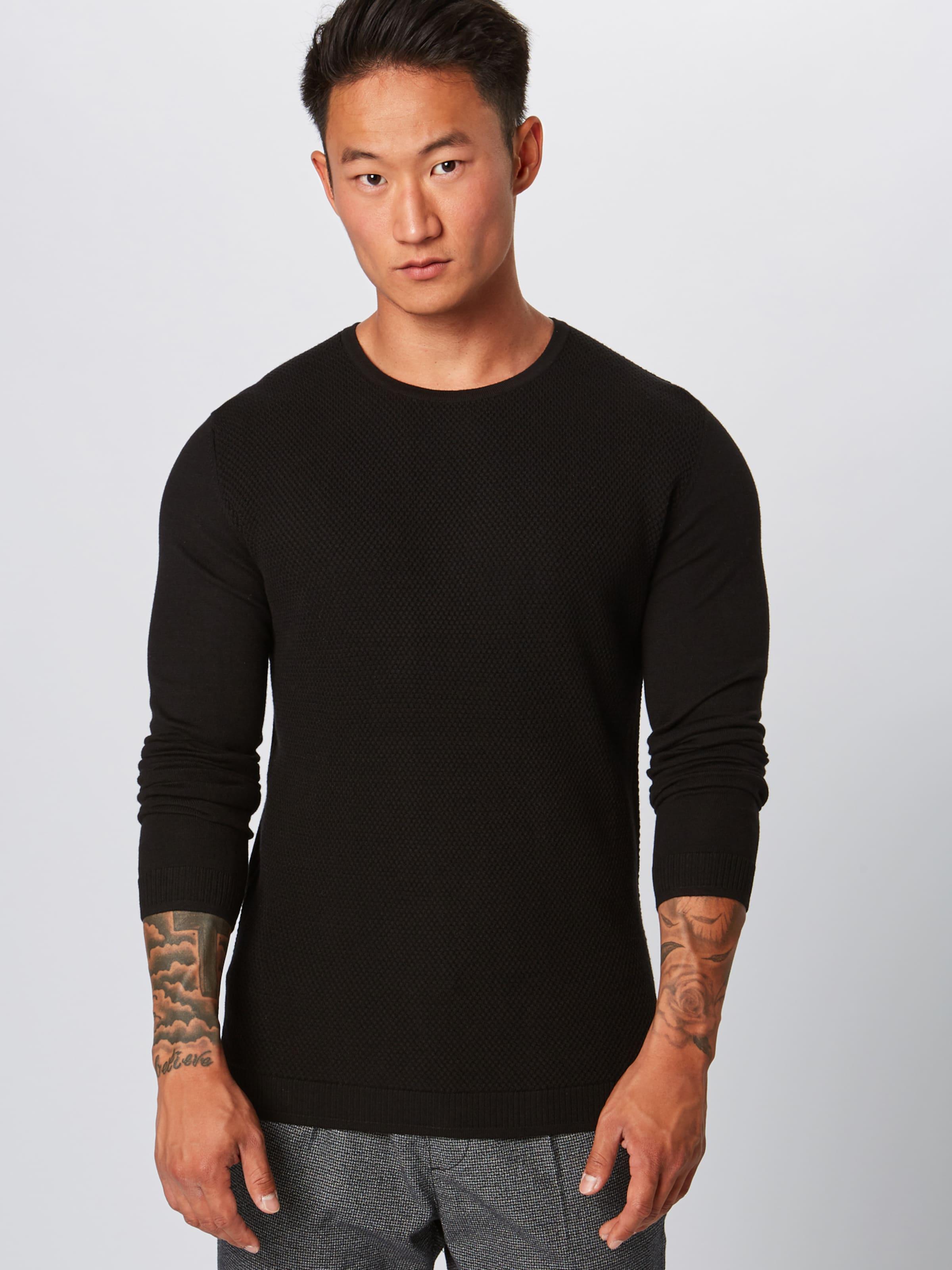 Strellson r' 'k Schwarz Pullover kendrick In xtrQdshC