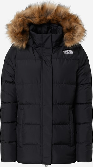 THE NORTH FACE Winterjas 'Gotham' in de kleur Beige / Zwart / Wit, Productweergave