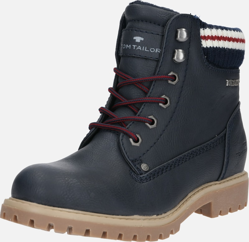 TOM TAILOR Stiefeletten in navy, Produktansicht