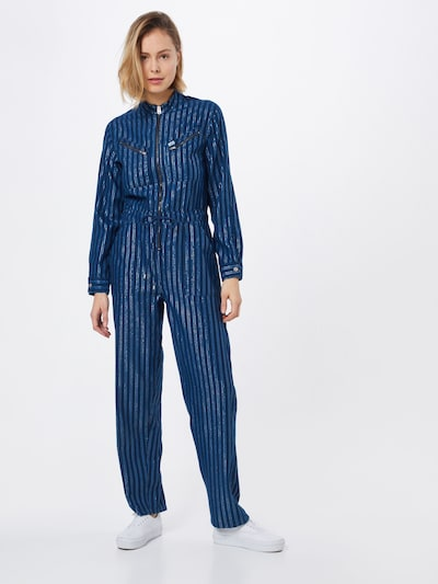 Lee Overall in blau, Modelansicht