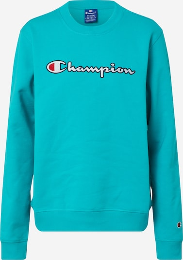 Champion Authentic Athletic Apparel Sweatshirt in de kleur Navy / Turquoise / Rood / Wit, Productweergave